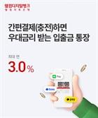 웰컴저축銀, '웰뱅 모두페이 통장' 출시…간편결제시 최대 연 3% 금리 혜택
