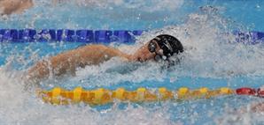 [사진] 이번엔 亞 신기록…황선우, 자유형 100m 결선 진출