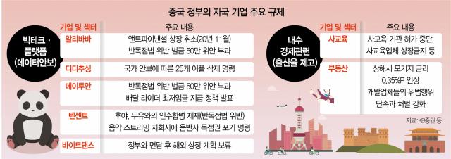 [中 증시 사흘간 시총 710조 증발] 중국 규제 피한 반도체·친환경株 '되레 수혜'