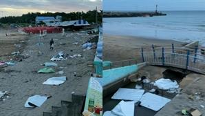 고성방가·쓰레기에 코로나 공포까지…'민폐 피서'에 신음하는 휴양지 주민들