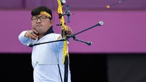 [속보] '양궁' 김우진, 개인전 8강서 탈락…'올림픽 전 종목 석권' 불발