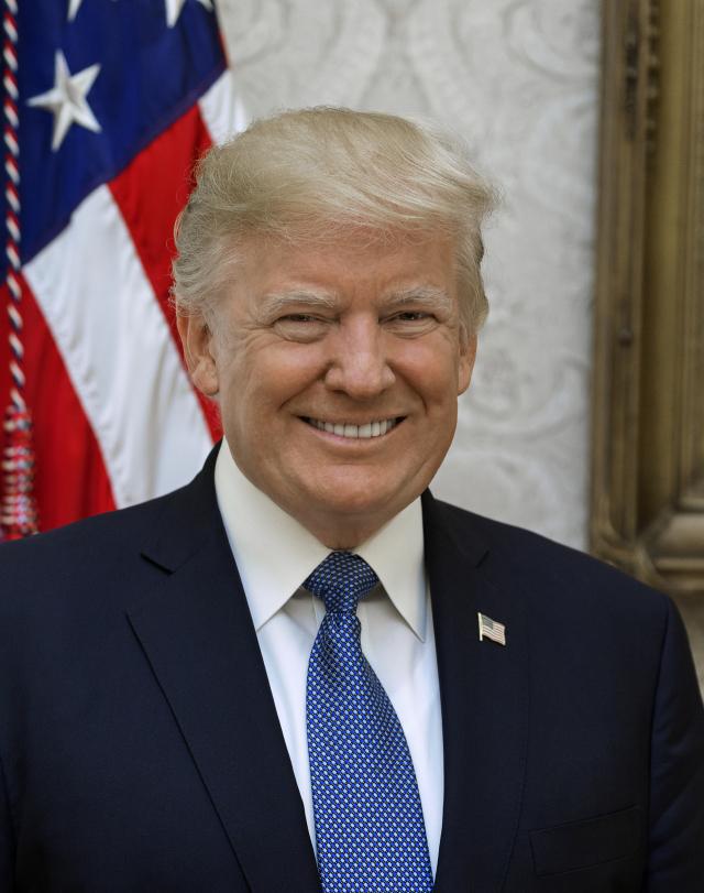 트럼프 '대통령 급여 기부' 약속 깼나
