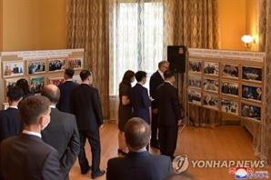 북한, 중국 이어 러시아와도 대면외교 재개…사진전 진행
