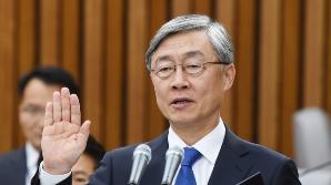 """[속보]최재형 """"국제공조로 북한 개혁개방, 자유민주주의 기초한 통일의 길 열겠다"""""""