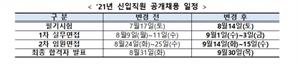 예탁원, 신입직원 공개채용 일정 재개