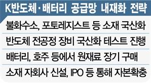 삼성·SK 반도체 소재 국산화… 배터리 3사도 원료 확보 올인