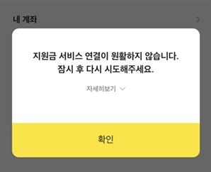 국민지원금 신청 폭주에 카드사 앱 '먹통'