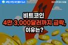 [노기자의 잠든사이에 일어난 일]비트코인 가격, 4만 3,000달러까지 순간 급락…이유는?