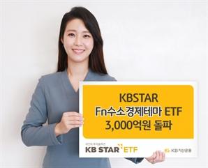 KB운용 '수소경제 ETF' 순자산 3,000억 돌파