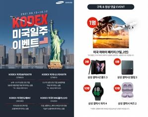 삼성자산운용, KODEX 미국 일주 이벤트 진행