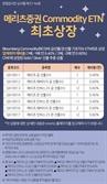 메리츠證, '금·은 선물 ETN' 7종 신규 상장