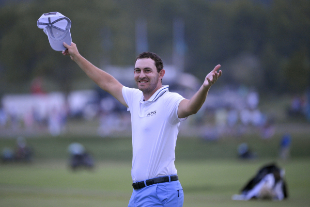 '1,500만 달러 사나이' 캔틀레이, PGA 투어 '올해의 선수'