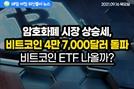 [노기자의 잠든사이에 일어난 일]상승세로 돌아선 암호화폐 시장…비트코인 ETF 나올까?