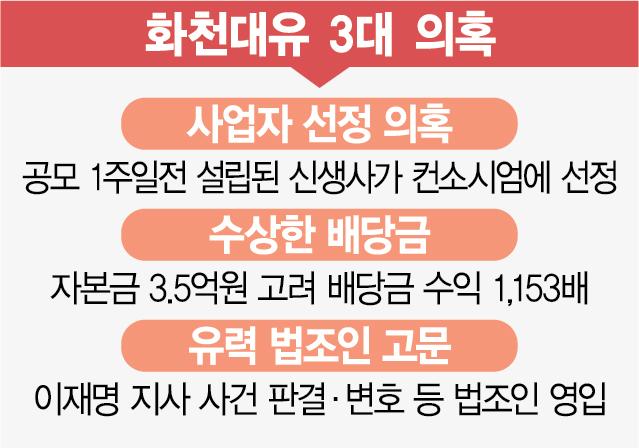 ① 사업공모 1주前 설립해 1조 프로젝트 참여…'특혜준것 아니냐'
