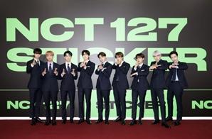 [SE★현장] 더 강렬해진 NCT 127 '스티커'처럼 착 달라붙는 매력으로 채웠다(종합)
