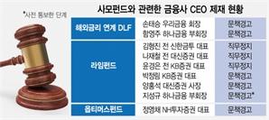 금감원, '손태승 DLF 사태' 1심 패소에 항소 결정