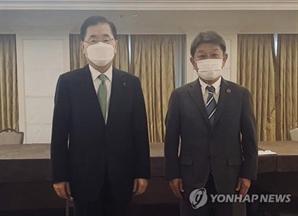 정의용-모테기, UN 총회 계기로 한일 외교장관 회담 추진
