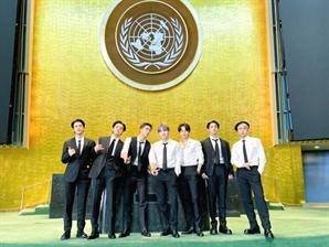 "BTS ""백신 접종"" 연설에 전 세계 팬들 접종 '인증샷'...유니세프 감사 인사도"