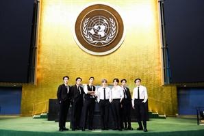 방탄소년단, 특사 활동 마치고 귀국…전 세계 청년 대표 목소리 냈다