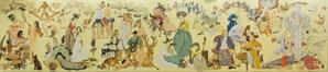 고대 이집트·조선·르네상스까지…9m 캔버스에 펼쳐진 美의 향연