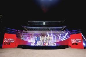 방탄소년단 '2021 글로벌 시티즌 라이브' 오프닝 장식 'Permission to Dance' 열창