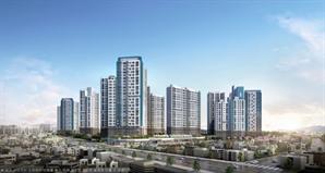 포스코건설, '더샵 청주센트럴' 평균 27.28대1 전주택형 1순위 마감