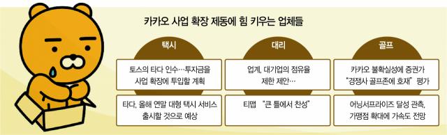 카카오 사업확장 올스톱에…경쟁사들 '지금이 기회'
