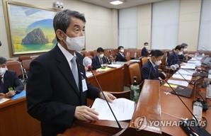 """이동걸 산업은행 회장 """"대장동 폭리 ,흔히 있을 수 있는 일"""""""