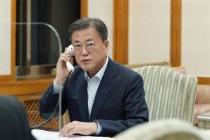 """文대통령 """"北김정은 마주하겠다는 日기시다 의지 높이 평가"""""""
