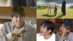 '1박 2일' 김선호가 화보 촬영 도중 눈물 흘린 이유는?