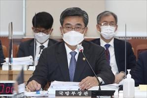 """UN 안보리도 긴급회의 열었는데…서욱 """"北 SLBM, 도발 아냐"""""""