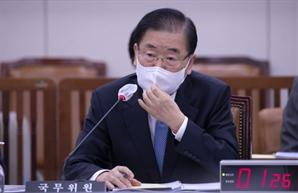"""野 '중국 저자세' 비판에…정의용 """"동의할 수 없다"""""""