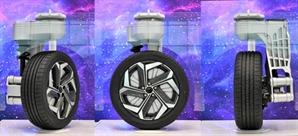 '자동차 바퀴가 90도 회전'…현대모비스, e-코너 모듈 개발