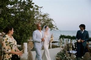 故 폴 워커 딸 결혼식장 입장, '분노의 질주' 빈 디젤이 함께했다
