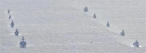 중국 함정과 일본 돌며 무력시위 벌인 러시아 군함, 동해 진입