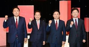이재명 공략할 방법은?... 尹·洪 '대장동·도덕성·변호사비·기본소득' 꼽아