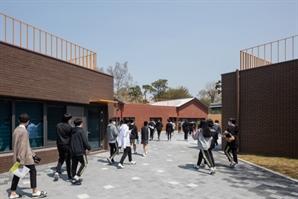 [2021 한국건축문화대상-우수상] 스머프마을학교: 송산중 증축 프로젝트