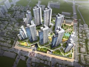 두산건설, 인천 '두산위브더제니스 센트럴 여의' 견본주택 개관