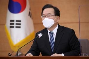 """김 총리 """"코로나19 사망율 급증하면 일상회복 '긴급 멈춤'"""""""